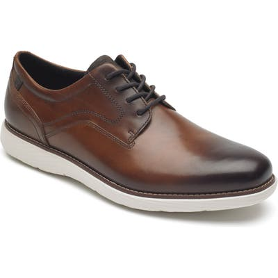 Rockport Kessler Plain Toe Derby, Brown