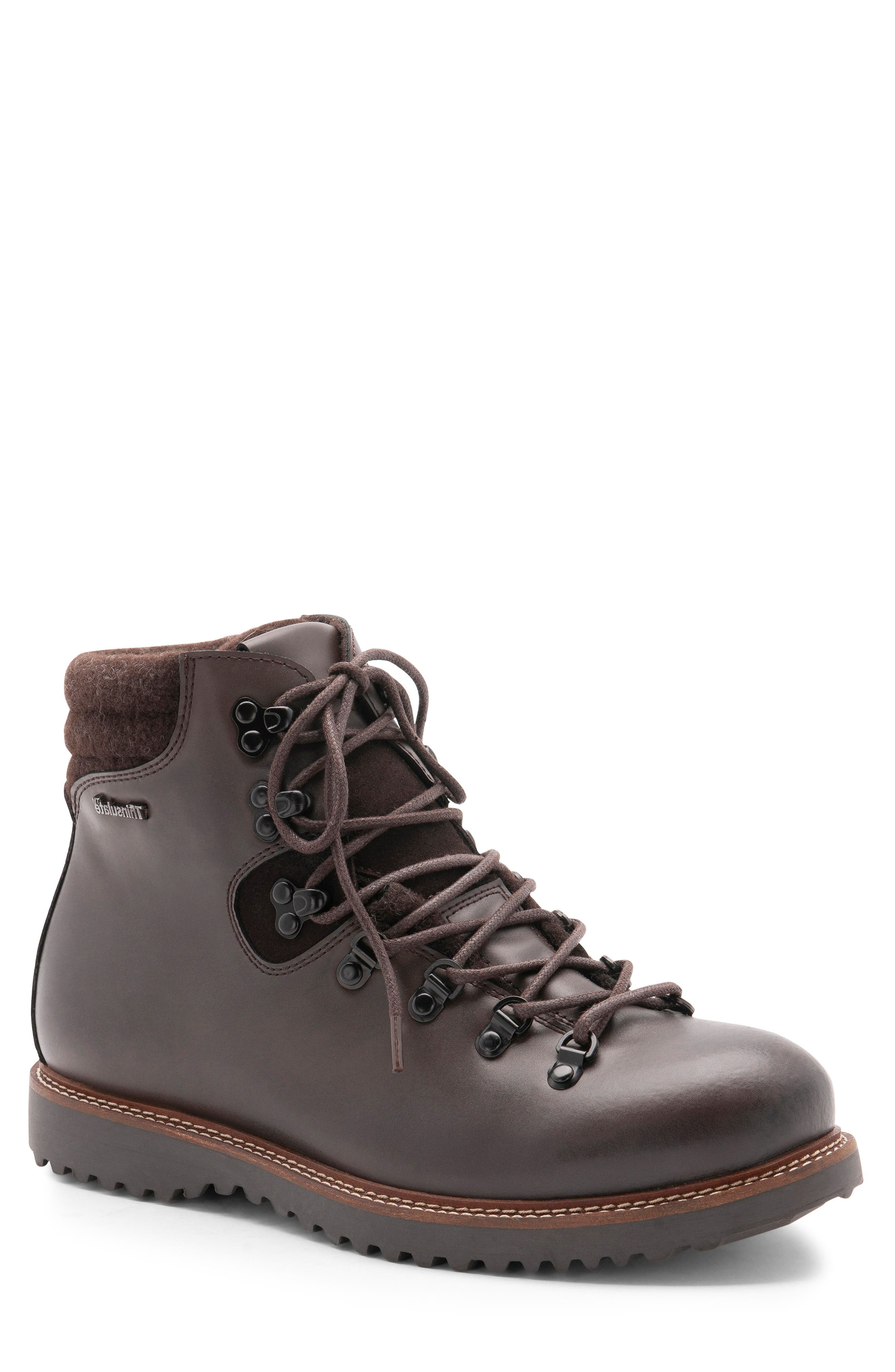 Blondo Morgan Waterproof Plain Toe Boot- Brown