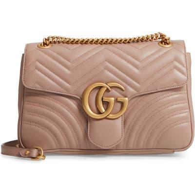 Gucci Medium Gg Marmont 2.0 Matelasse Leather Shoulder Bag -