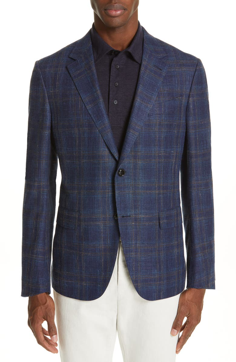 ERMENEGILDO ZEGNA Trofeo Classic Fit Sport Coat, Main, color, 416