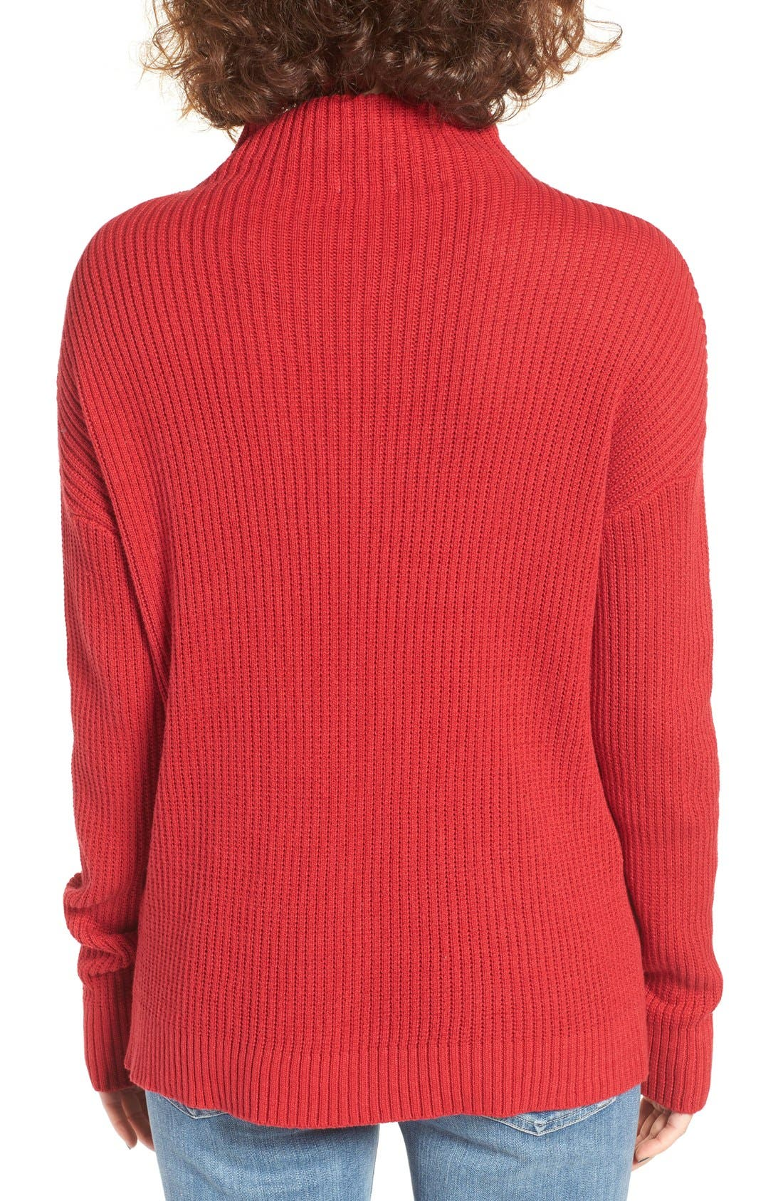 ,                             Mock Neck Sweater,                             Alternate thumbnail 32, color,                             610