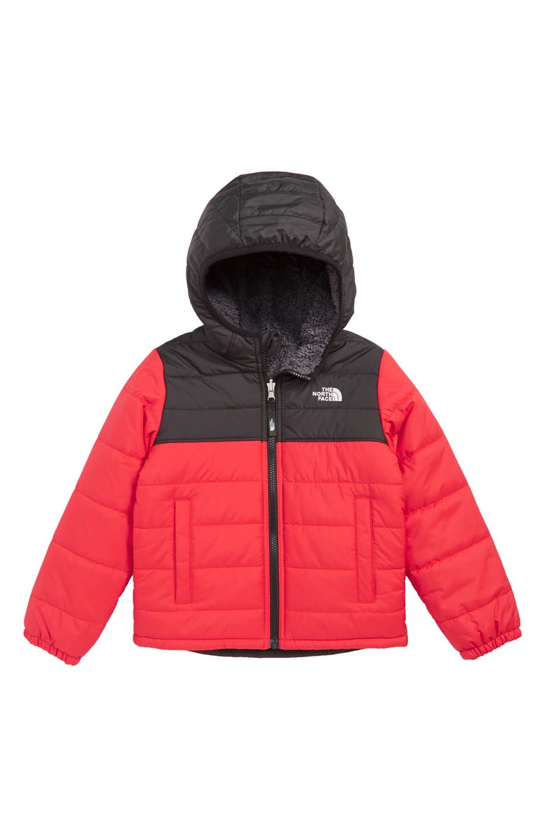 THE NORTH FACE Chimborazo Reversible Jacket, Main, color, TNF RED/ TNF BLACK