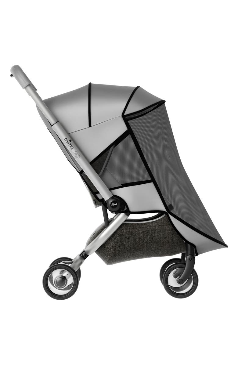 MIMA Mosquito Net for Zigi Travel Stroller, Main, color, SILVER
