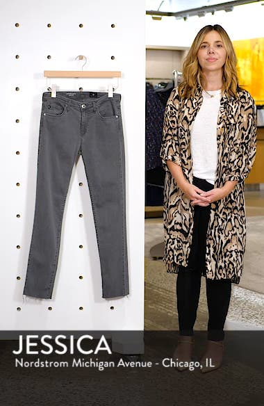 Prima Raw Hem Ankle Skinny Jeans, sales video thumbnail