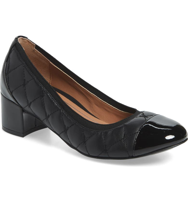 VIONIC Ruby Pump, Main, color, BLACK LEATHER