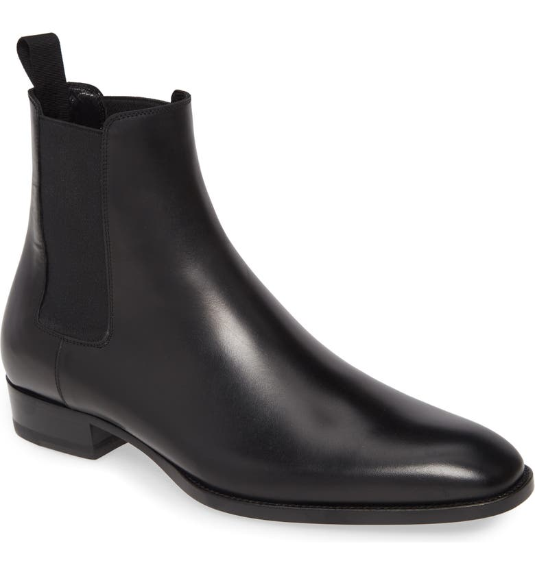 SAINT LAURENT Chelsea Boot, Main, color, 001