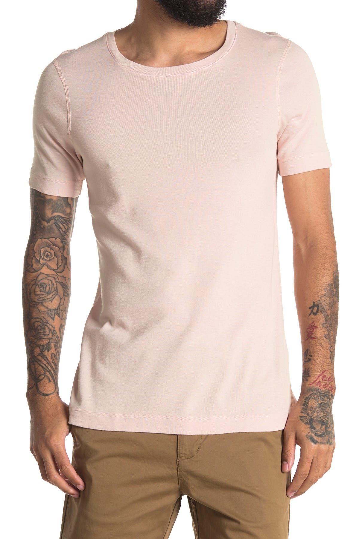 Image of Three Dots Short Sleeve Crew Neck T-Shirt