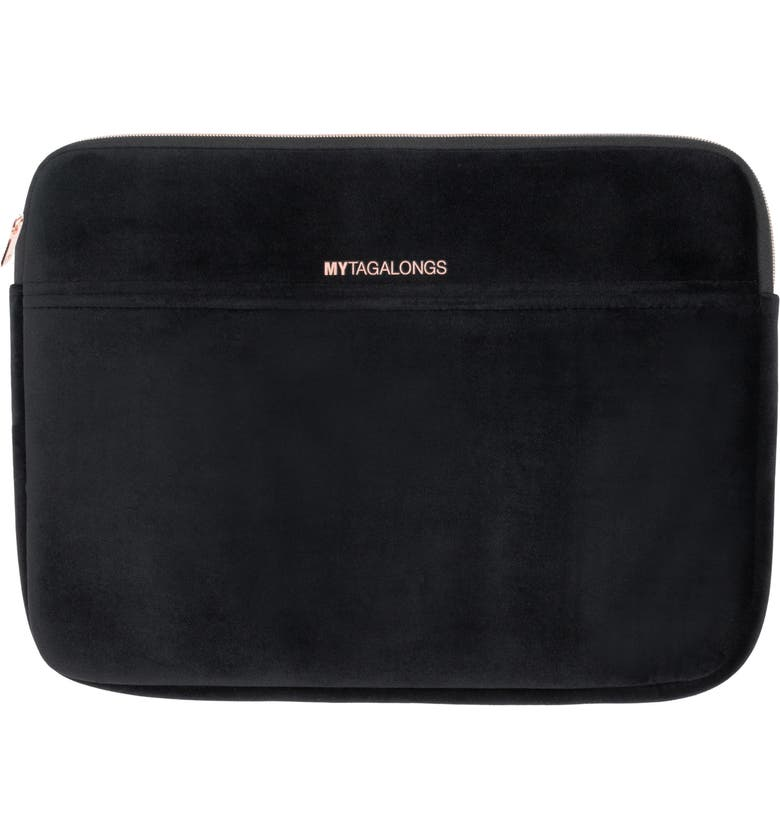 MYTAGALONGS Vixen Laptop Sleeve, Main, color, BLACK
