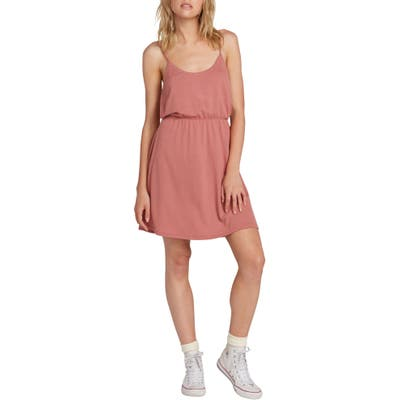 Volcom Le Fresh Cutout Minidress