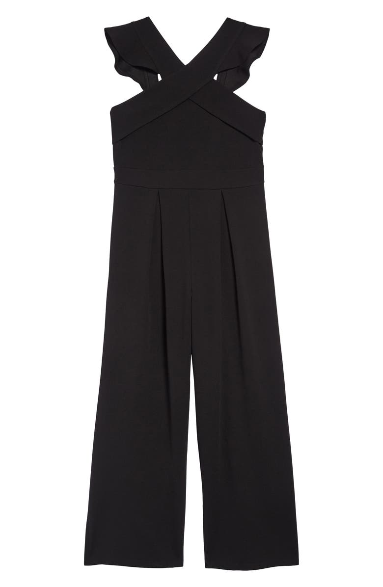 Love Nickie Lew Ruffle Shoulder Jumpsuit Big Girls