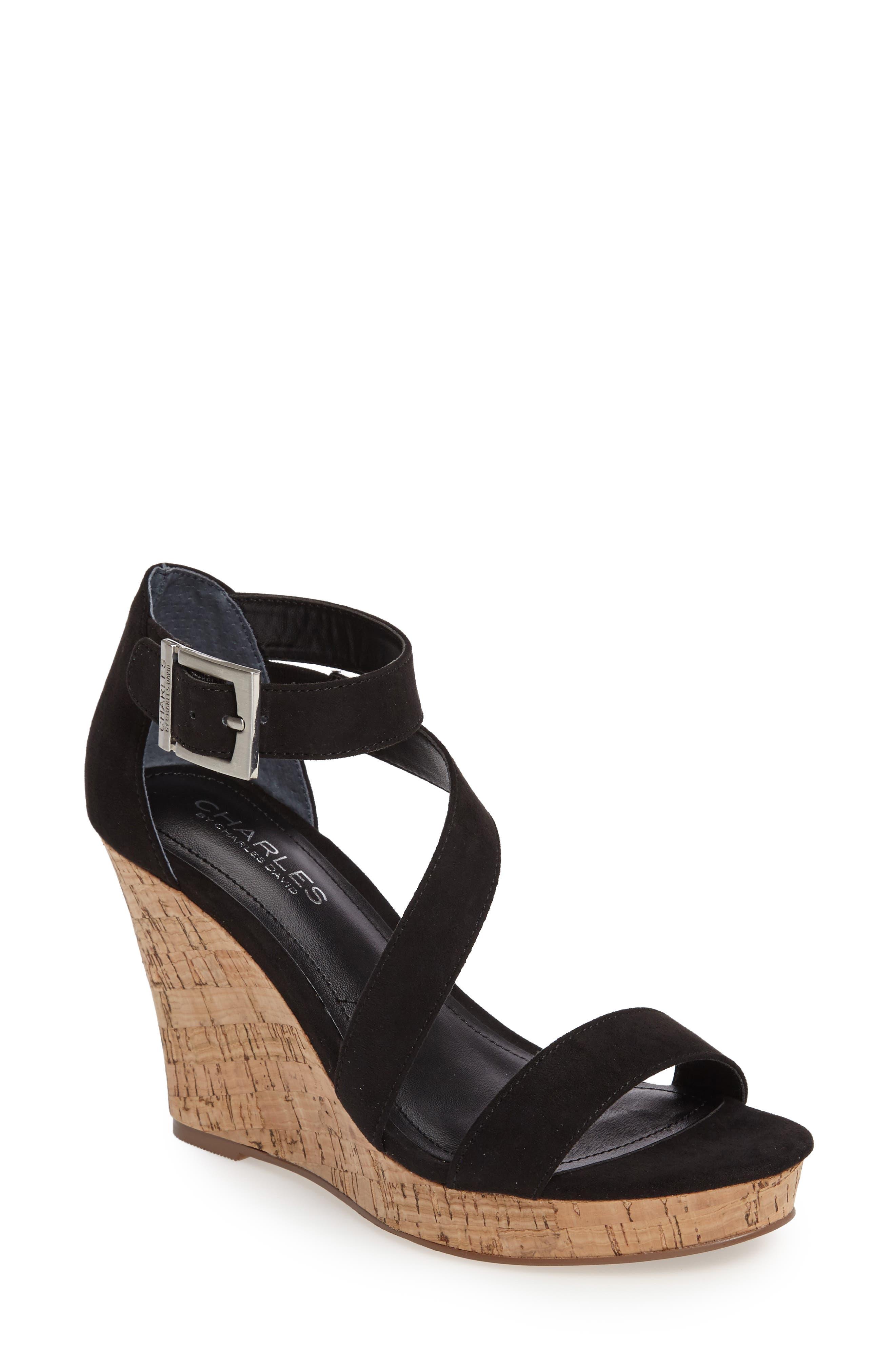 charles by charles david leanna wedge sandal