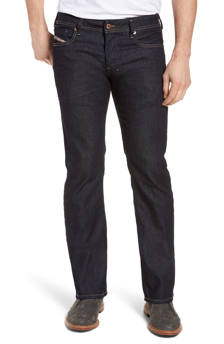 DIESEL<SUP>®</SUP> Zatiny Bootcut Jeans, Main, color, BLUE
