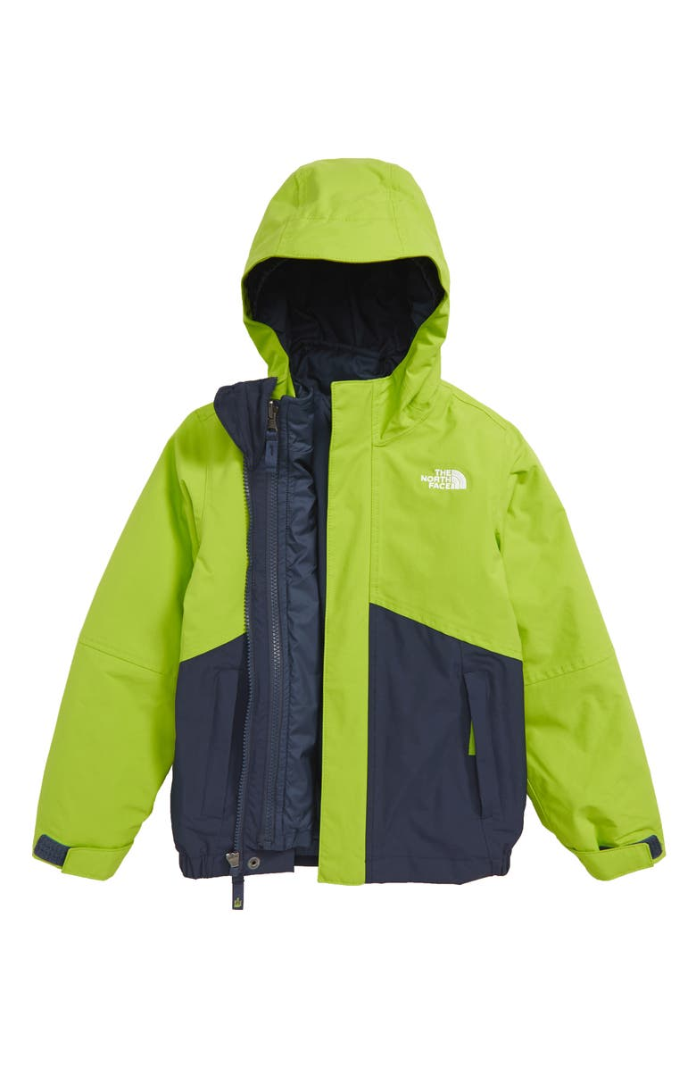 THE NORTH FACE Boundary Triclimate<sup>®</sup> Waterproof 3-in-1 Snow Jacket, Main, color, COSMIC BLUE