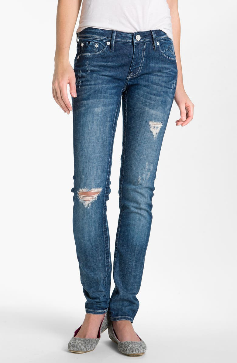 VIGOSS Distressed Skinny Jeans, Main, color, 426