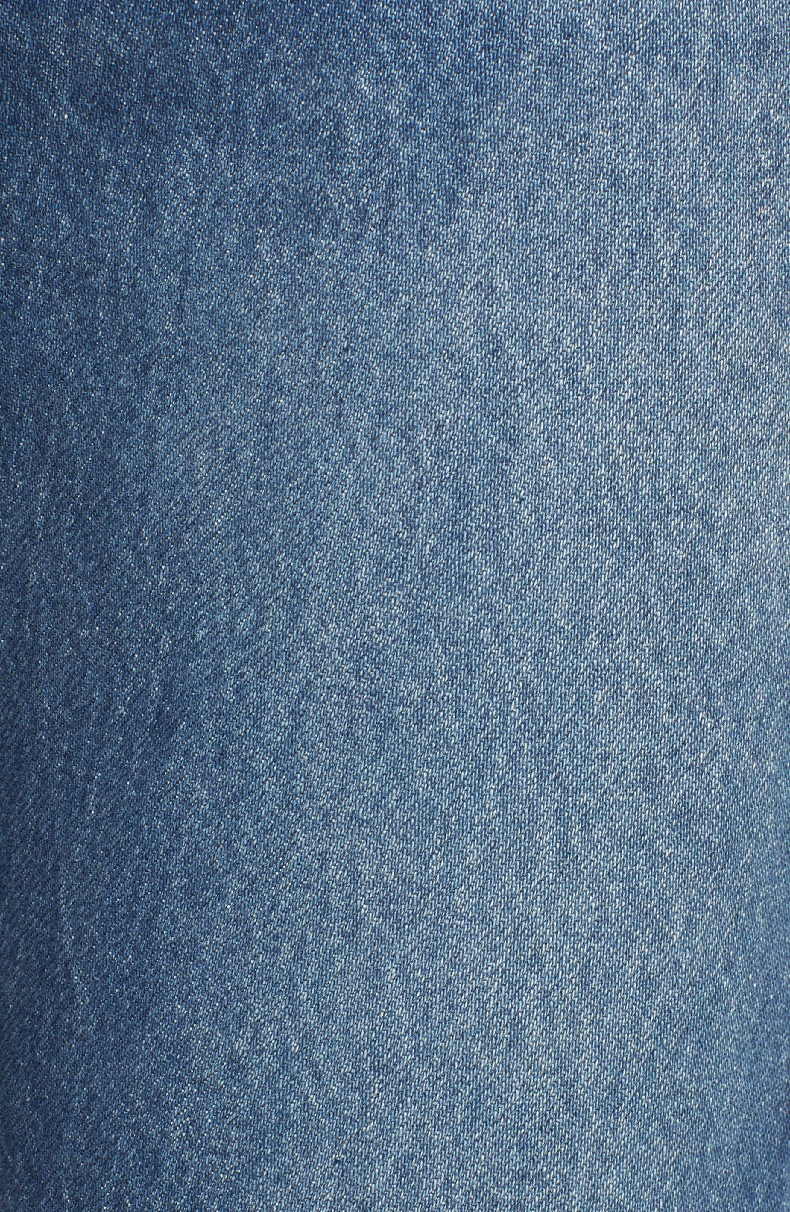 ,                             501<sup>®</sup> High Waist Ankle Skinny Jeans,                             Alternate thumbnail 6, color,                             420