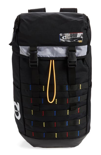 Nike Kd Veneer Backpack In Black/ Multi
