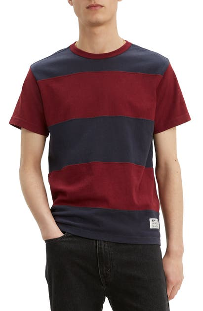 Levi's T-shirts MIGHTY MADE COLORBLOCK STRIPE T-SHIRT