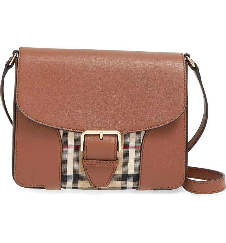 Burberry 'Small Dickens - Horseferry Check' Crossbody Bag