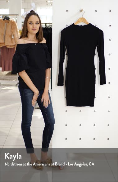 Long Sleeve Minidress, sales video thumbnail