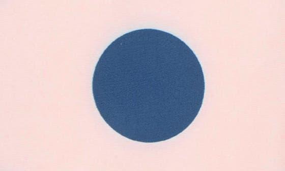 PINK ENGLISH- BLUE BOLD DOT