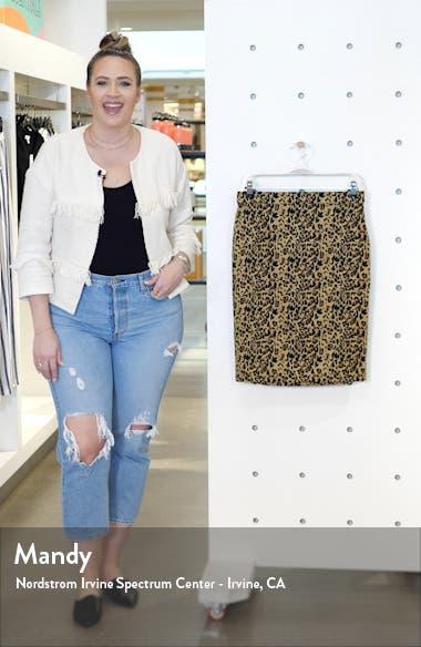 No. 2 Pencil Leopard Stretch Skirt, sales video thumbnail