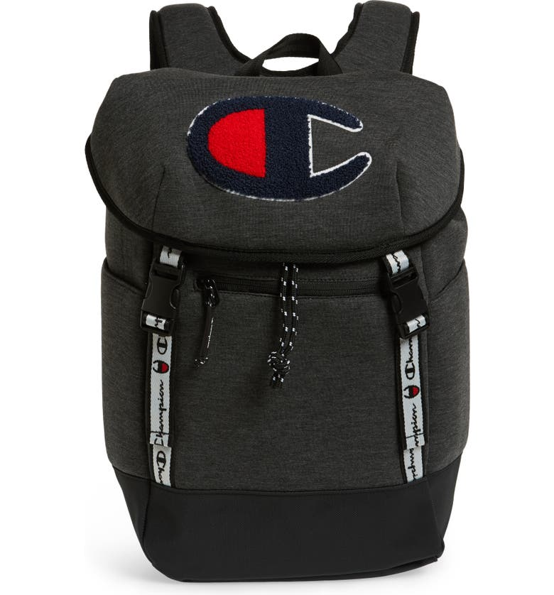 CHAMPION Top Load Backpack, Main, color, GRANITE HEATHER