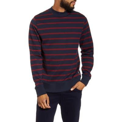 Oliver Spencer Robin Slim Fit Organic Cotton Sweater, Blue