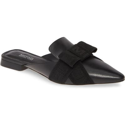 Michael Michael Kors Ames Bow Mule, Black