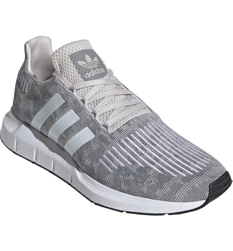 ADIDAS Swift Run Sneaker, Main, color, GREY/ WHITE/ GREY ONE