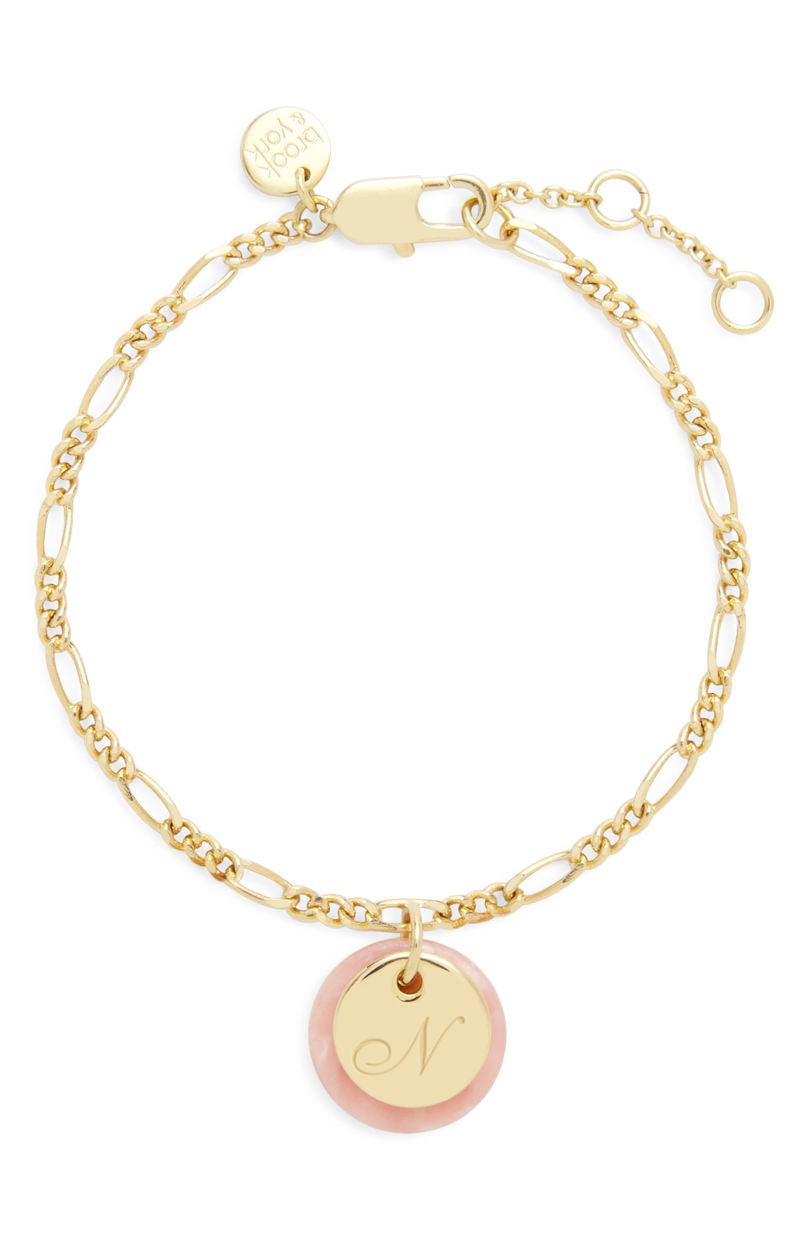 Chelsea Initial Charm Bracelet