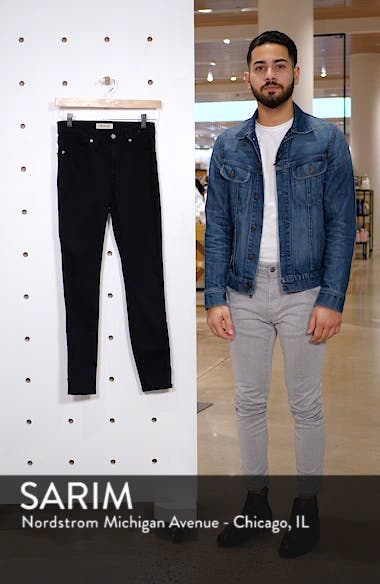 9-Inch High Waist Ankle Skinny Jeans: Tencel<sup>®</sup> Edition, sales video thumbnail
