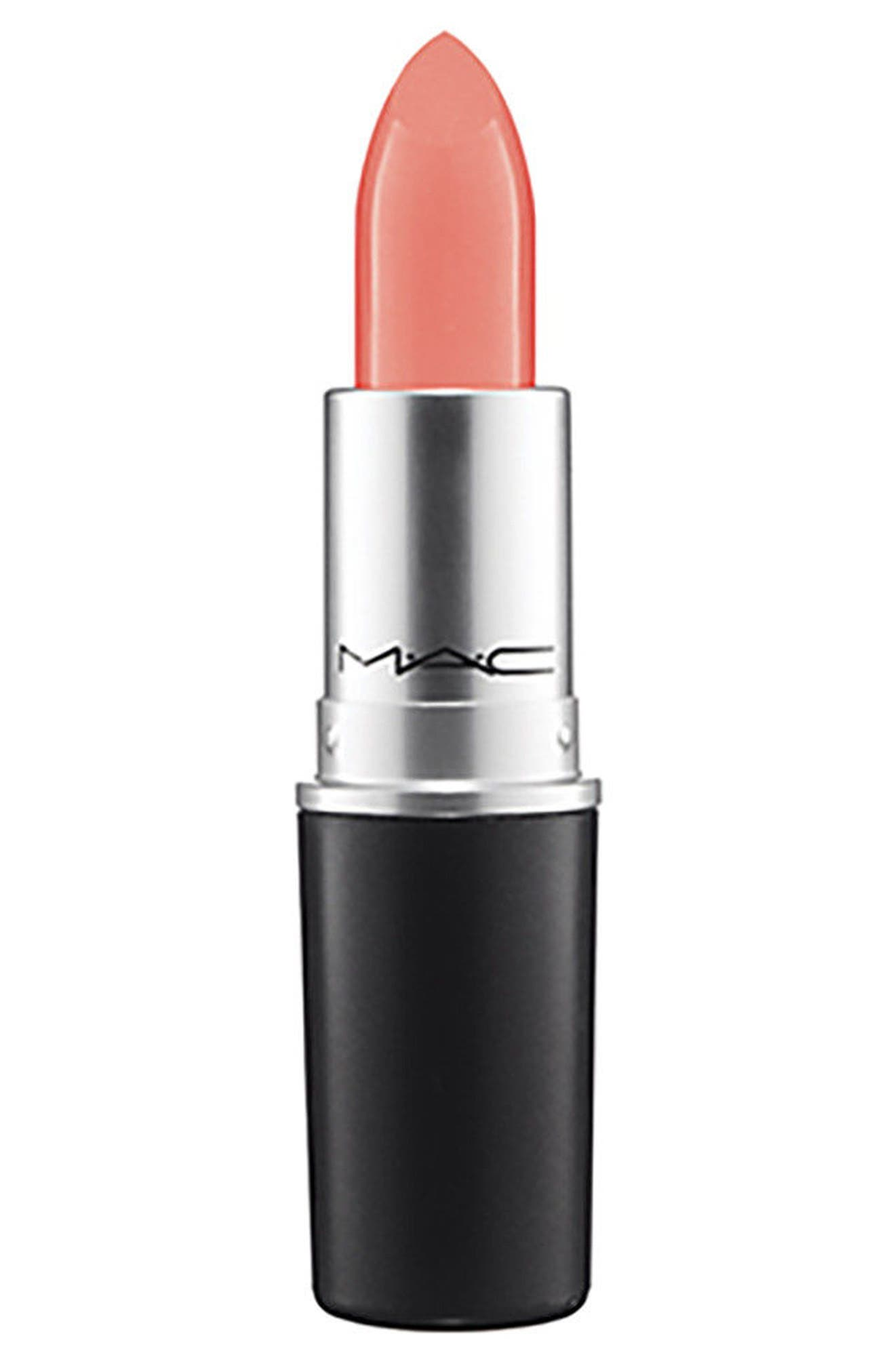 ,                             MAC Strip Down Nude Lipstick,                             Main thumbnail 83, color,                             098