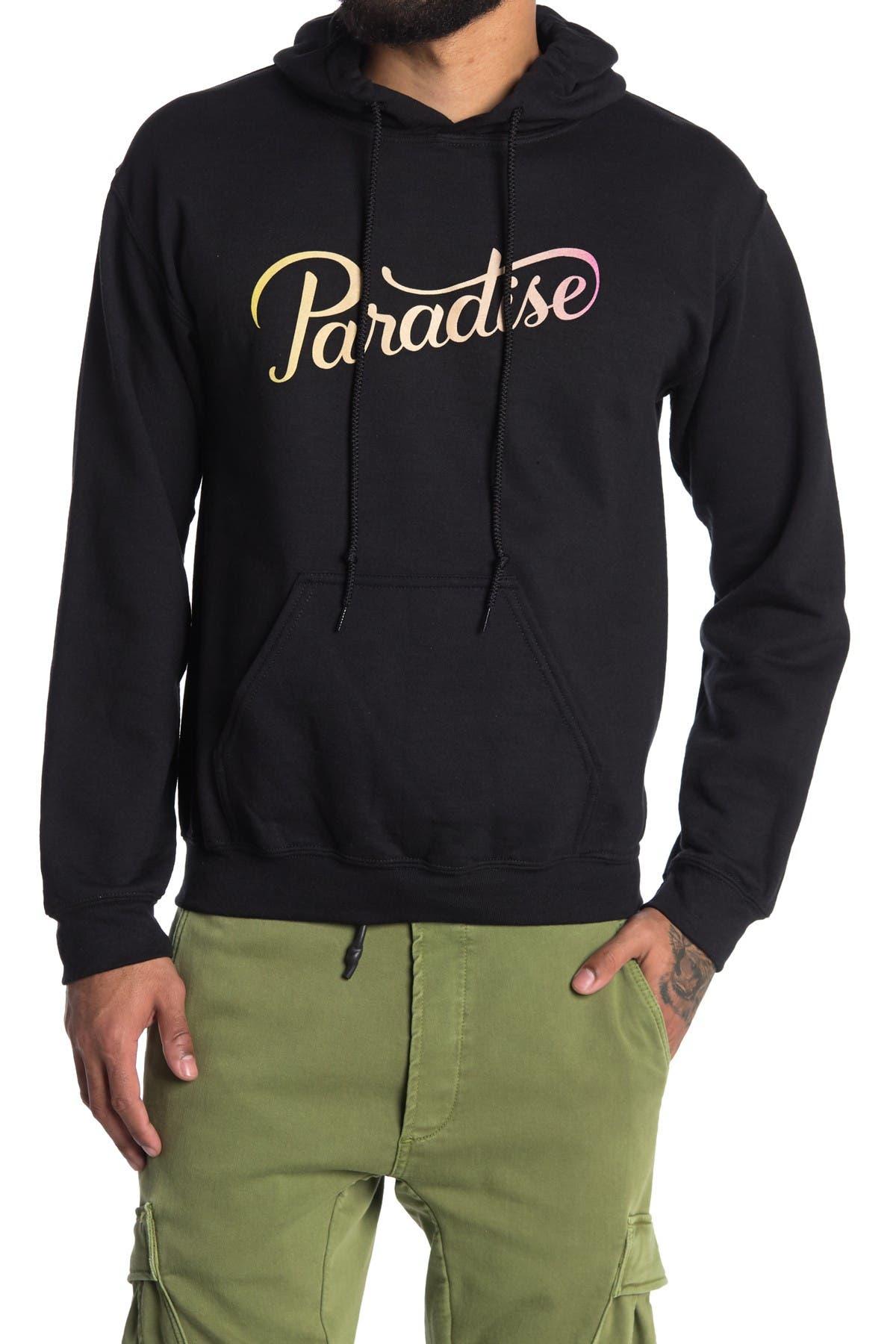 Image of Future Palms Paradise Pullover Fleece Hoodie