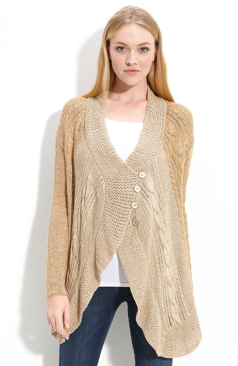 FREE PEOPLE Trapeze Cardigan, Main, color, 200