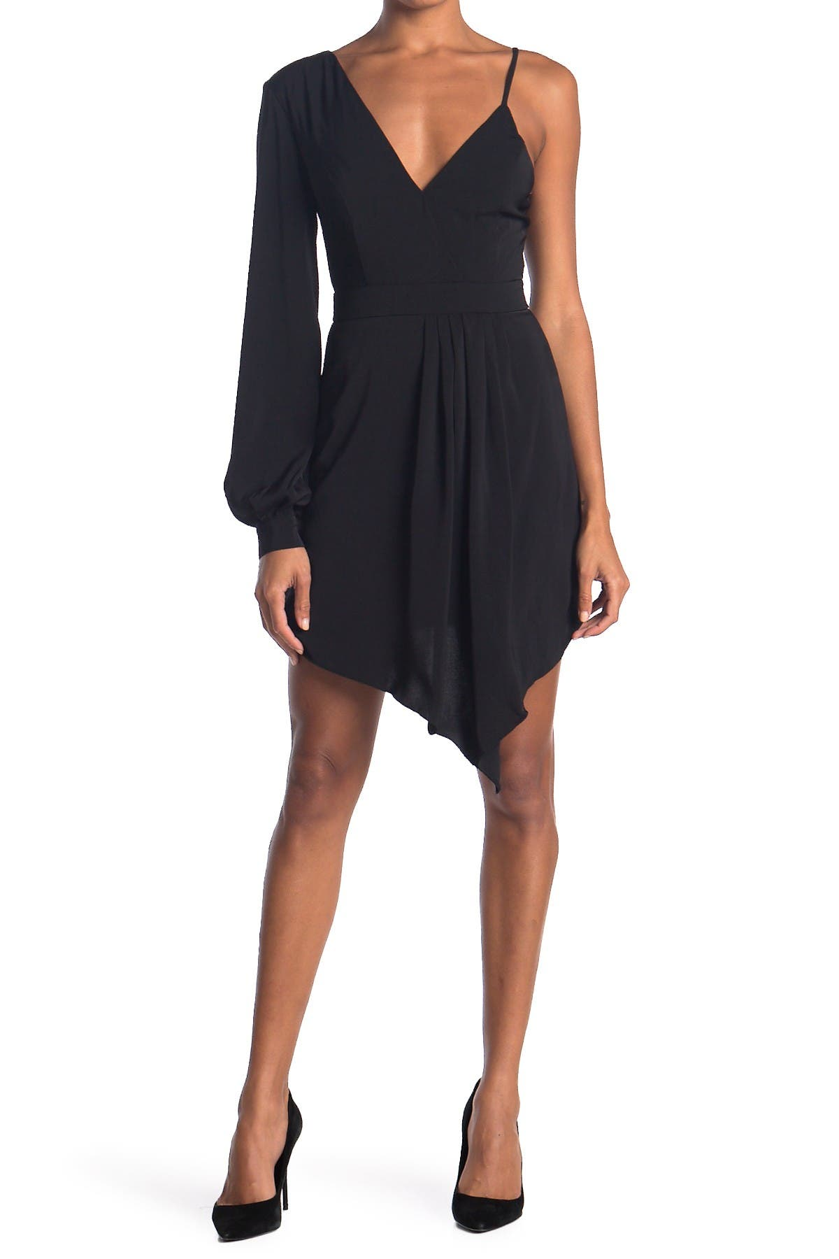Do + Be One-Shoulder Asymmetrical Dress