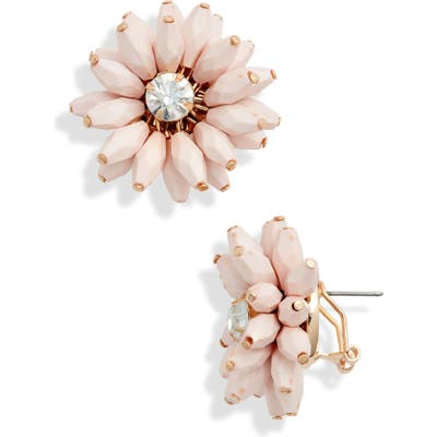 Rachel Parcell Flower Statement Earrings (Nordstrom Exclusive)