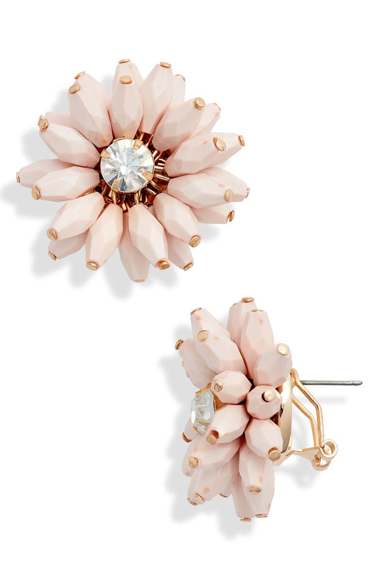 Rachel Parcell Flower Statement Earrings Exclusive
