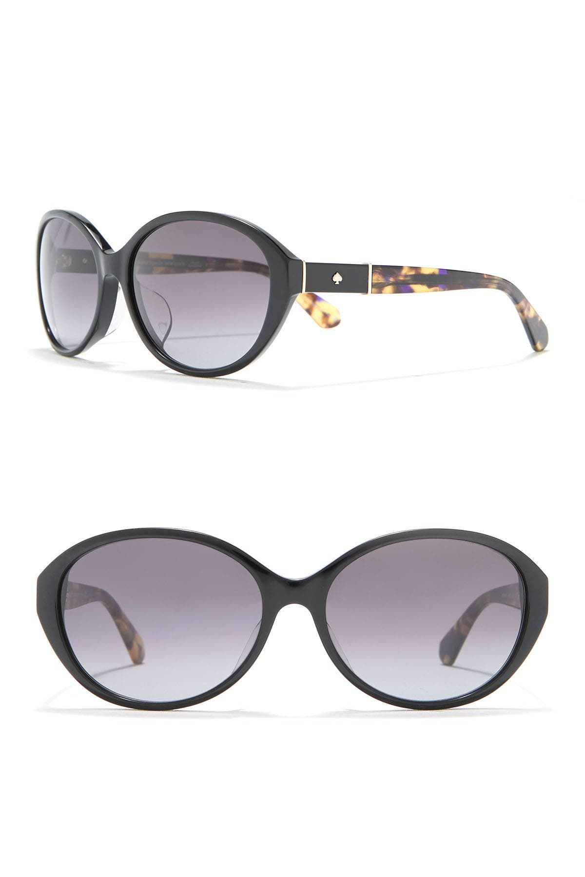 Image of kate spade new york catrine 58mm oval sunglasses