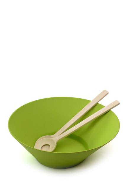Image of BergHOFF Green 3-Piece Salad Serving Set