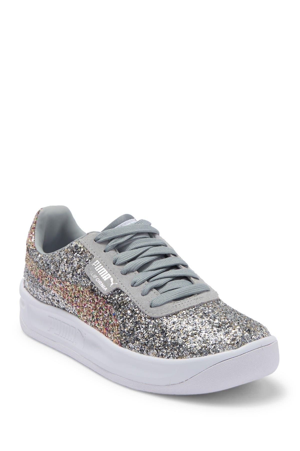 PUMA   California Glitz Glitter Sneaker