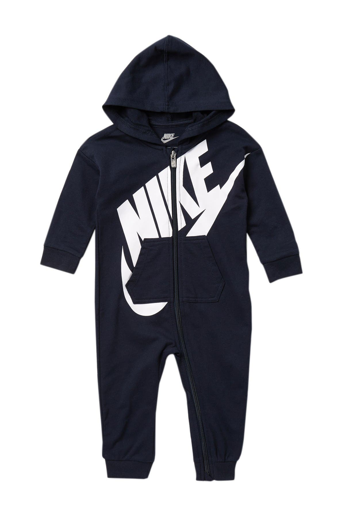 Nike Baby Boys Hooded Coverall Jumpsuit
