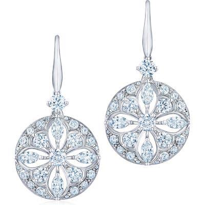 Kwiat Diamond Star Drop Earrings