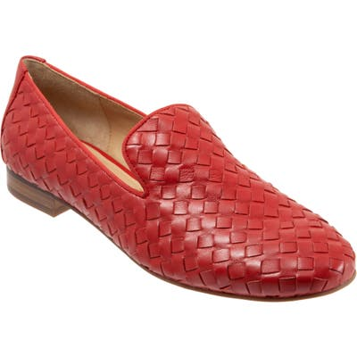 Trotters Gracie Loafer, Red