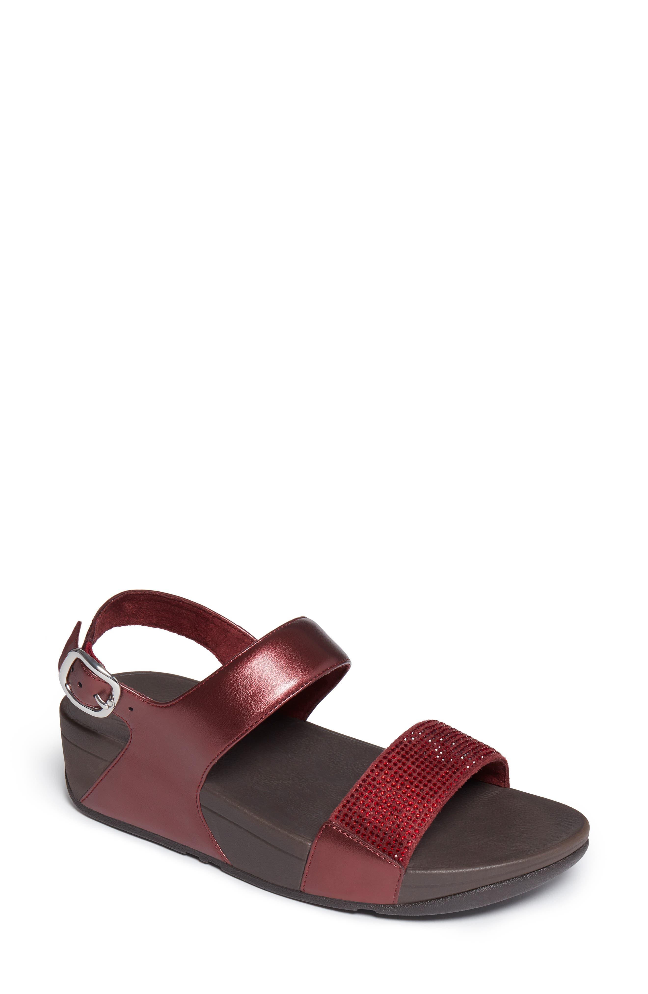 Lulu Crystal Slingback Sandal