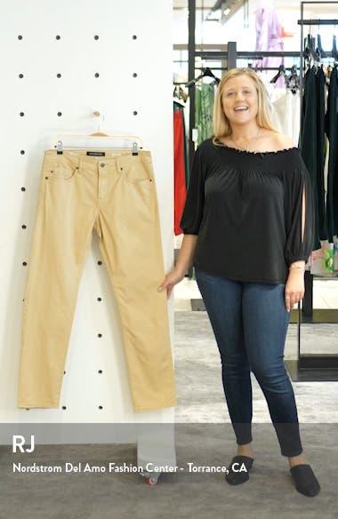 Kingston Slim Straight Leg Jeans, sales video thumbnail