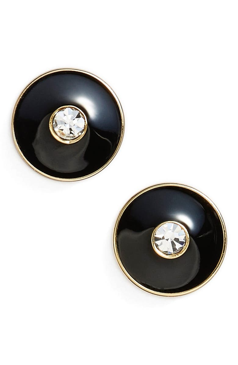 KATE SPADE NEW YORK 'set in stone' stud earrings, Main, color, 001