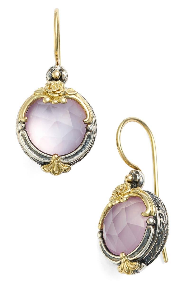 KONSTANTINO 'Iliada' Doublet Drop Earrings, Main, color, 040