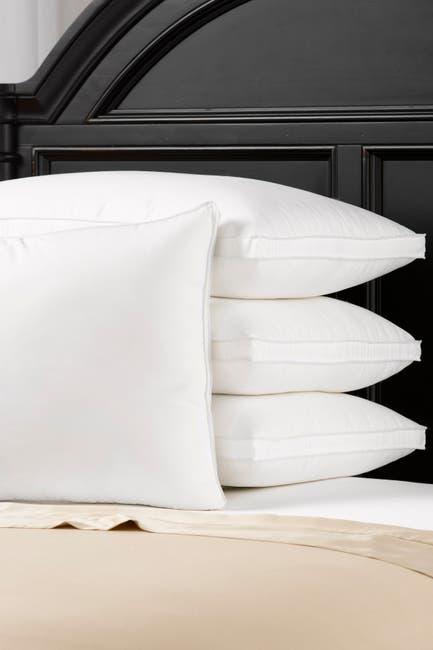 Image of Ella Jayne Soft Luxury Plush Gusseted Soft Gel Filled Stomach Sleeper Standard Pillow - Set of 4