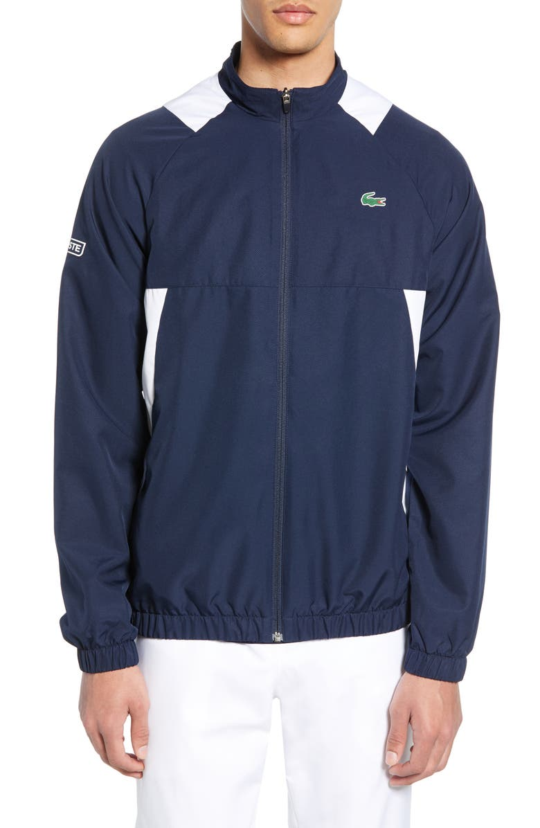 LACOSTE Track Jacket, Main, color, 467