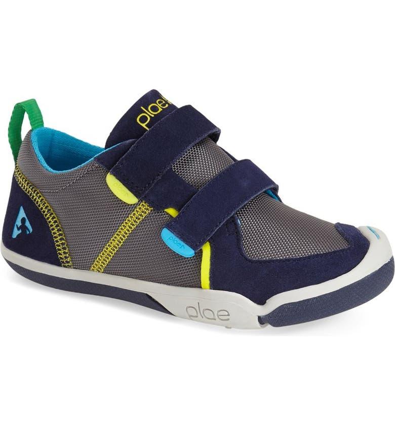 PLAE Ty Sneaker, Main, color, NAVY/ STEEL